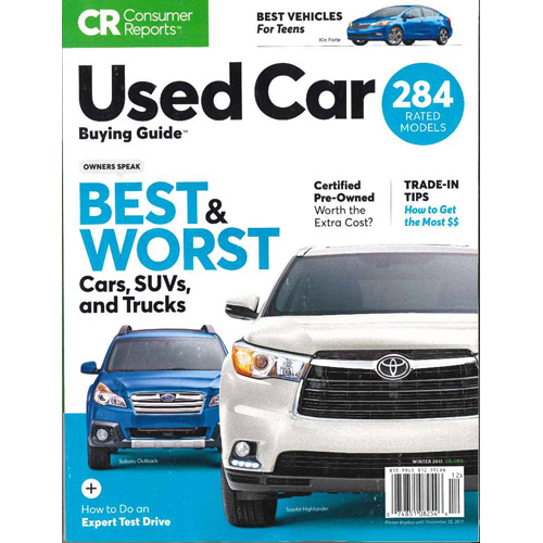 Cars For Consumer Guide: お台場・グリース/Consumer Reports(洋雑誌 コンシューマー・レポート)
