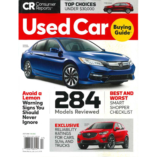 Consumer Guide 2018 Sign: お台場・グリース/Consumer Reports(洋雑誌 コンシューマー・レポート)